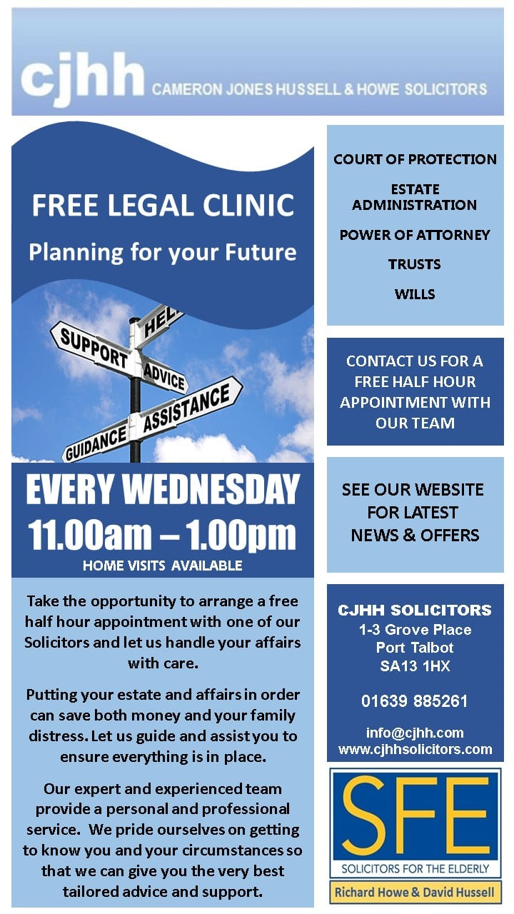 free legal clinic leaflet