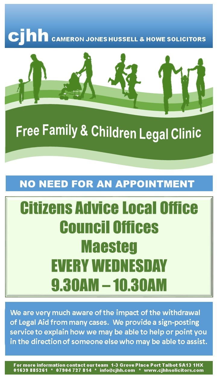 free family and children clinic poster