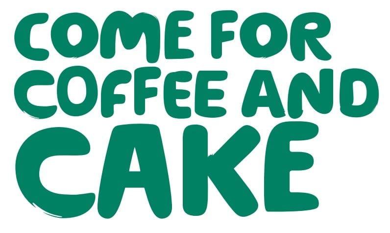 MacMillan Cancer coffee and cake