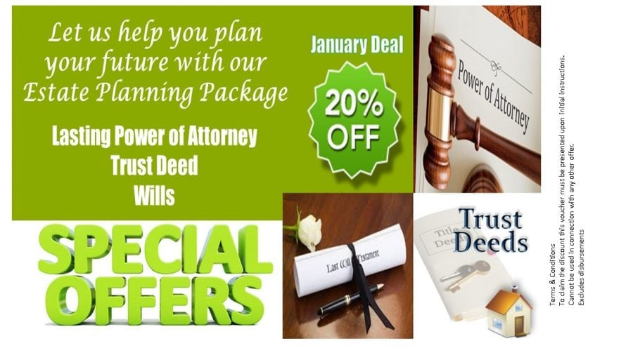Special Offers leaflet